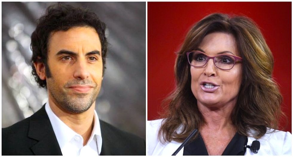 Sacha Baron Cohen reveals how Sarah Palin flopped in mock interview: 'She wasn't good enough to make the show'