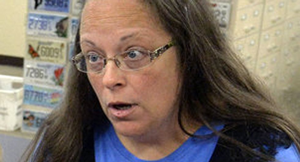 Kim Davis will be jailed on contempt charges until she agrees to issue same-sex marriage licenses