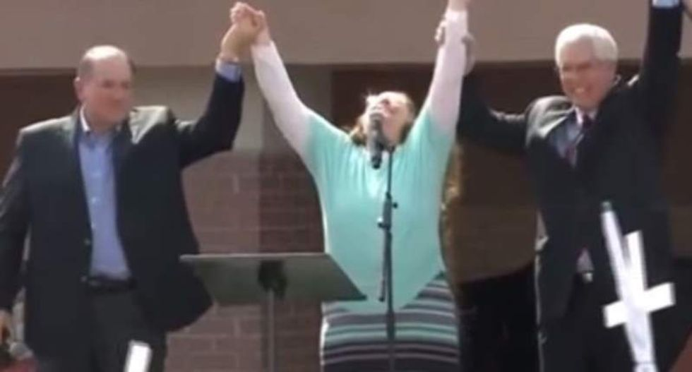 Watch this insane video presented by Kim Davis' law group at extremist Christian campus