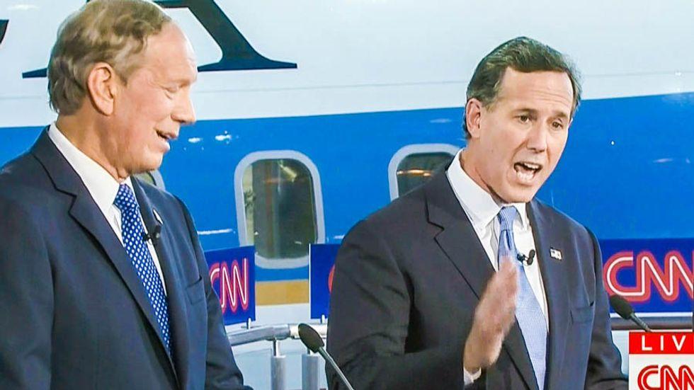 Rick Santorum: Kim Davis is like victim of the Columbine massacre