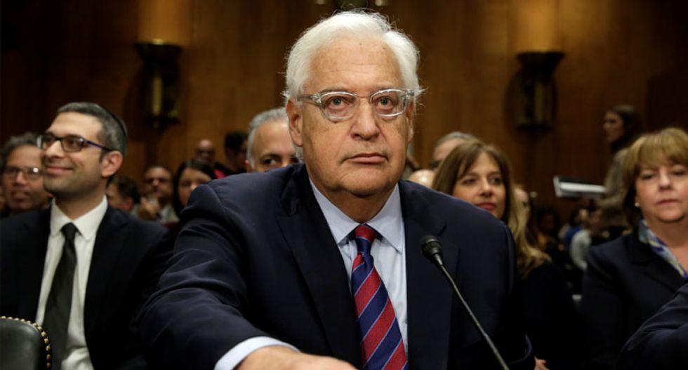 US Senate panel backs Trump nominee to be ambassador to Israel