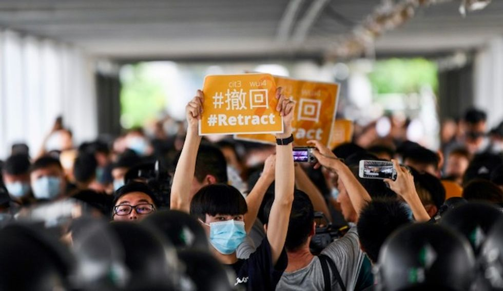 Telegram traces cyber-attack during HK protests to China