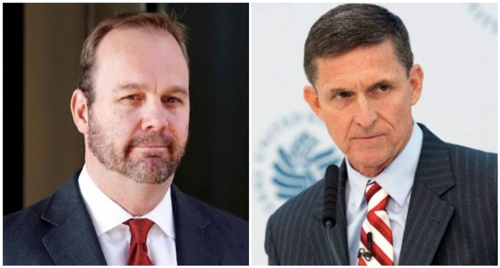 Rick Gates and Michael Flynn ordered to testify by House Intel Committee
