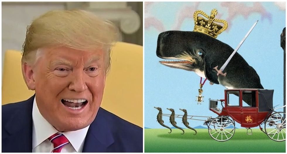 'I dub thee sir Humpback': Trump's inept 'Prince of Whales' tweet gets hilariously roasted