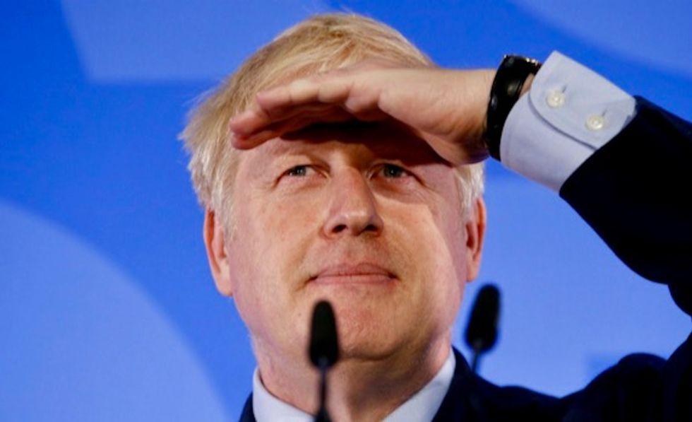 Boris Johnson tops first-round UK Conservative leadership vote
