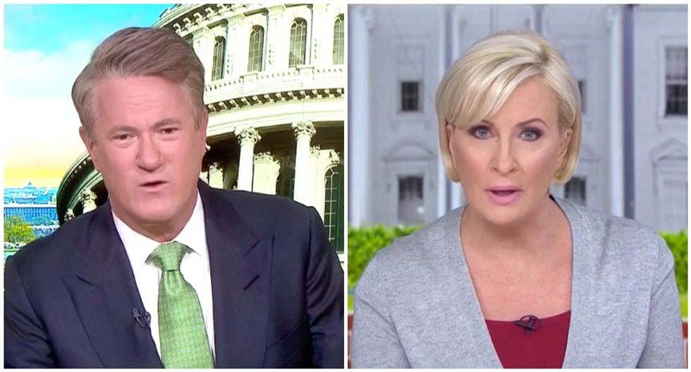 MSNBC's Morning Joe and Mika clash over whether Trump is 'evil' -- or just 'demented'