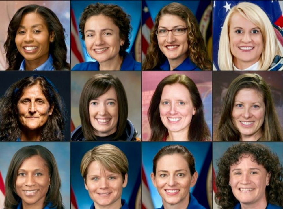 Womankind's giant leap: who will be the first female moonwalker?