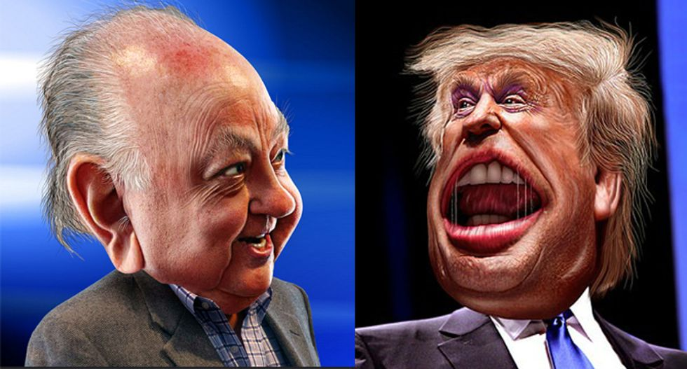 Conservative kiss and make up: Fox News' Roger Ailes to meet with Donald Trump to soothe hurt feelings