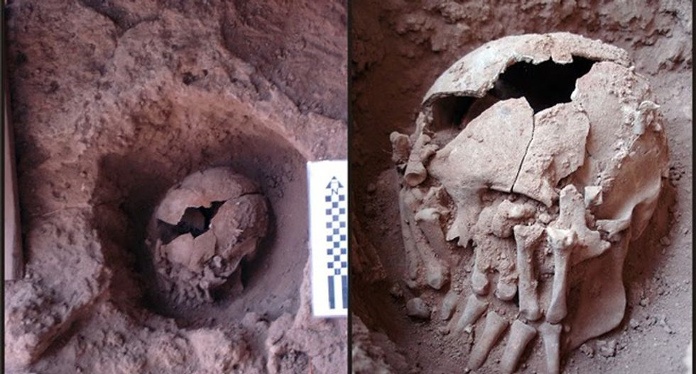 Found: 9,000-year-old case of ritualistic beheading that may be oldest in Americas