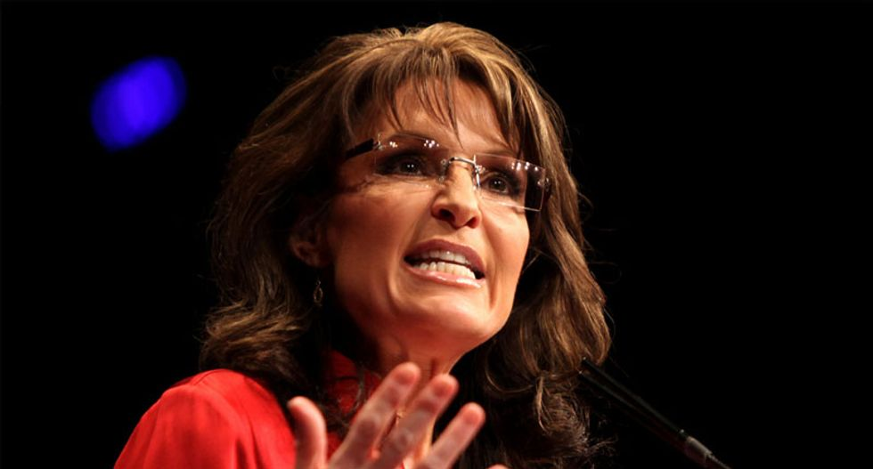 Sarah Palin could be making a return to politics in the age of Trump