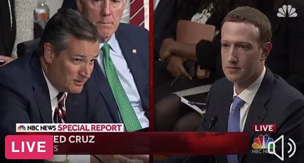 Internet drags 'black hole of charisma' Ted Cruz for whining about Facebook bias: 'Why won't you accept my friend request?'