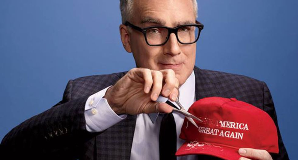 Keith Olbermann: 'Whack job' Trump is facing an intel coup -- but he still blunders on obliviously