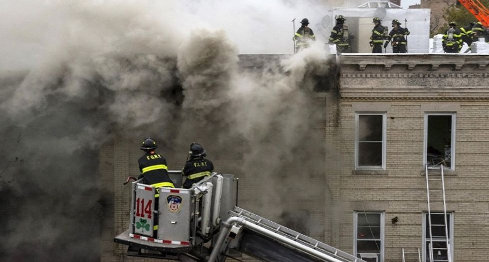 Blast at New York residential building kills one, injures three