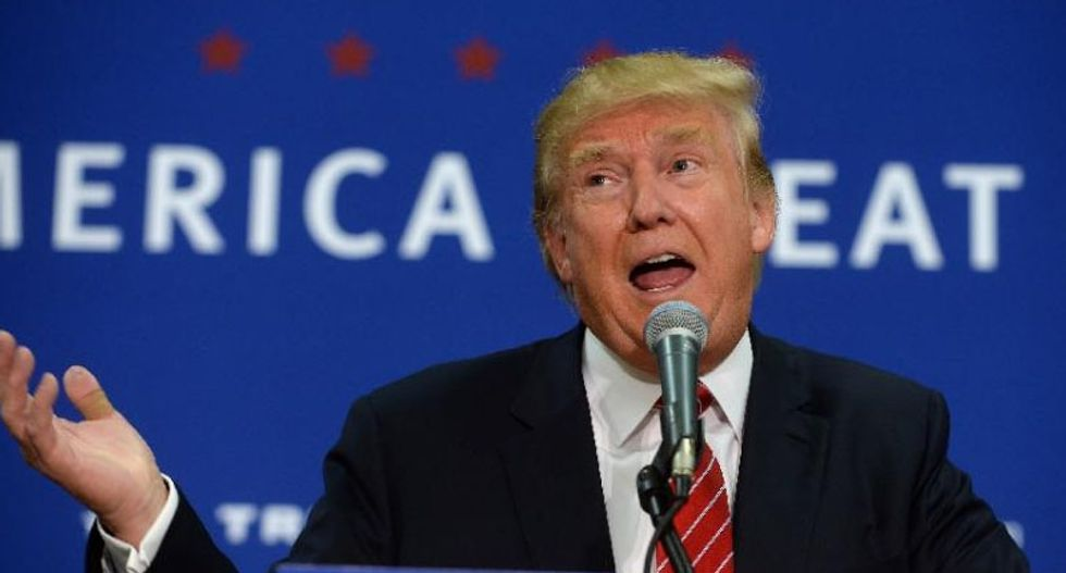 Donald Trump nears 40 percent support in national poll