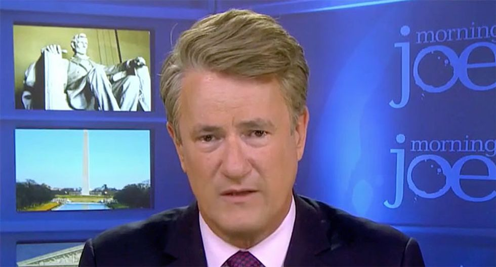 'Where was Paul Ryan after Charlottesville?' MSNBC's Joe Scarborough says Speaker 'wasn't comfortable standing up to Trump'