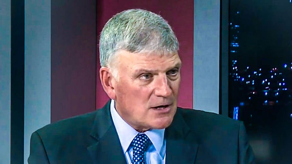 Franklin Graham finally admits Trump lost but his followers insist he's 'not hearing what God is really doing'