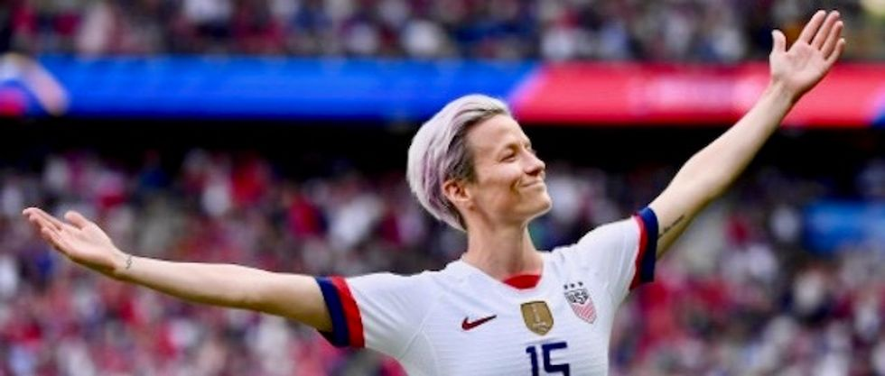 Right-wing snowflakes melt down over US women's soccer team's stunning World Cup win