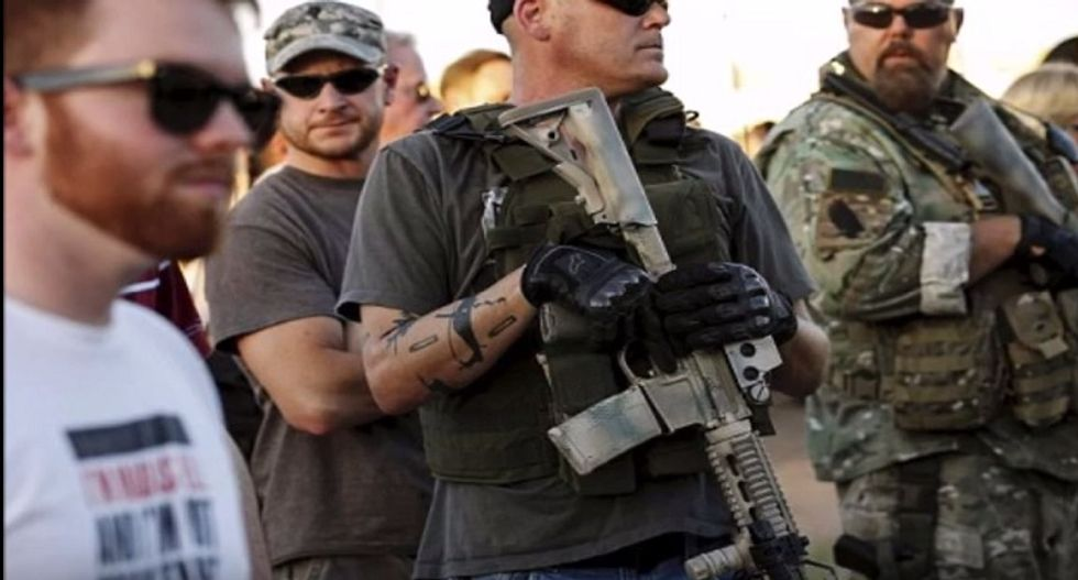 Right-wing militias organizing 'armed gathering' in Virginia — with 'threat of civil war': extremism researcher