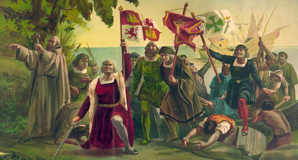 Christopher Columbus was a genocidal maniac -- AND a bumbling idiot