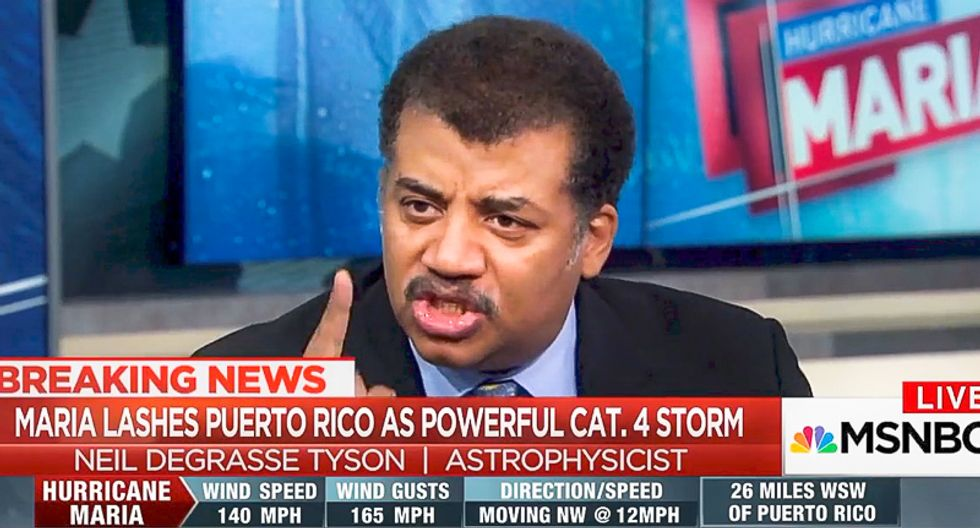 Neil deGrasse Tyson takes science deniers to the woodshed: 'Fringe information is unraveling our democracy'