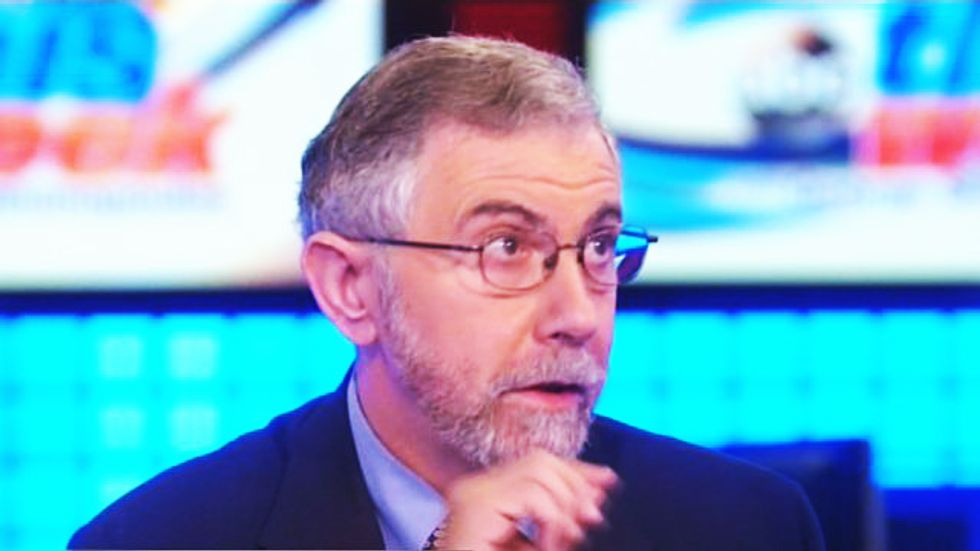 Paul Krugman drops the mic on Trump and his pals for profiting from the atrocities he creates