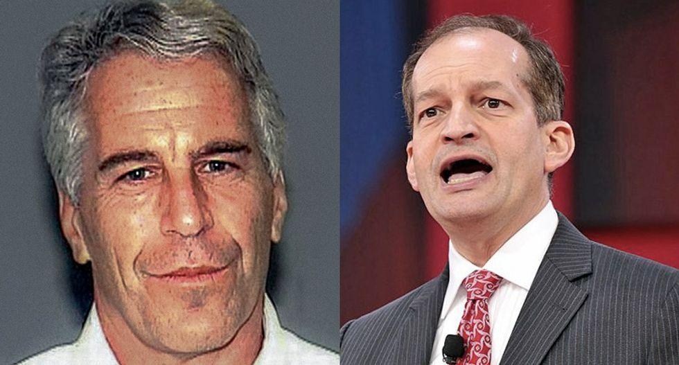 Here's the 'smoking gun' that Alex Acosta broke the law by helping Epstein: Ex-prosecutor