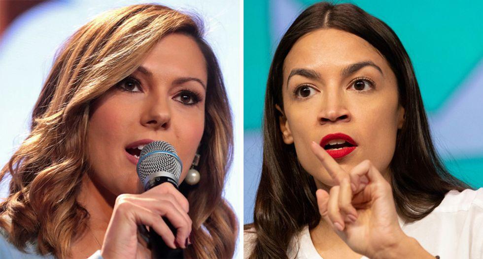 Ocasio-Cortez dunks on Fox News for defending Kellyanne Conway's sexism towards women