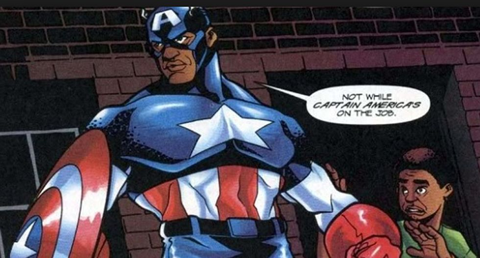 Fox & Friends freaks out over black Captain America: It's a plot to 'target conservatives'