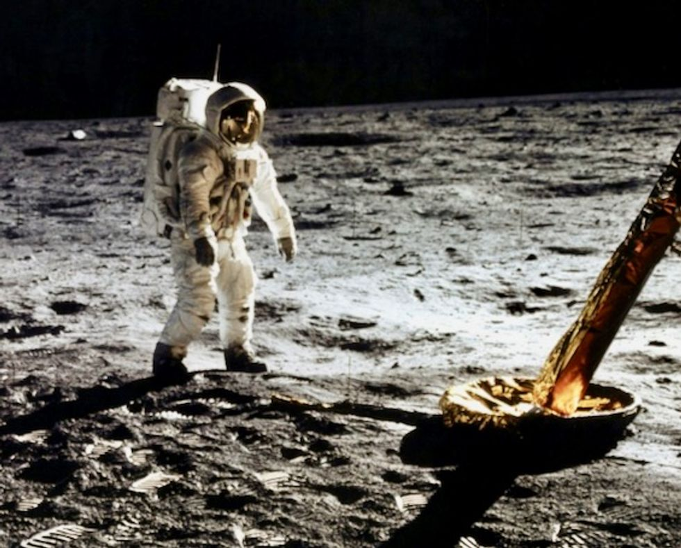 Hard soil, big jumps and epiphanies: what it's like on the Moon