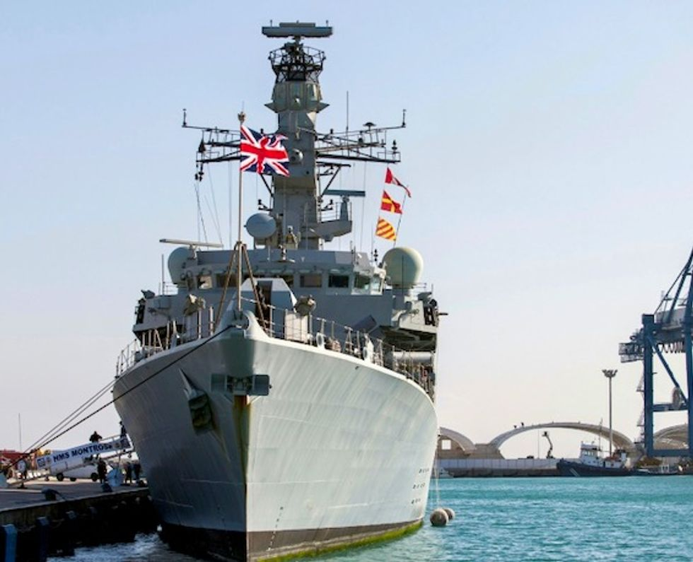 Iranian boats attempted to seize British tanker but were driven off by a Royal Navy
