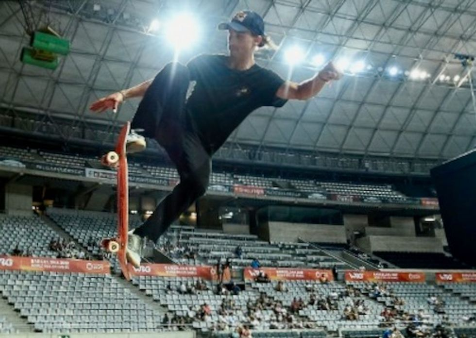 'Lazy pothead' skateboarders get serious with Olympic dream