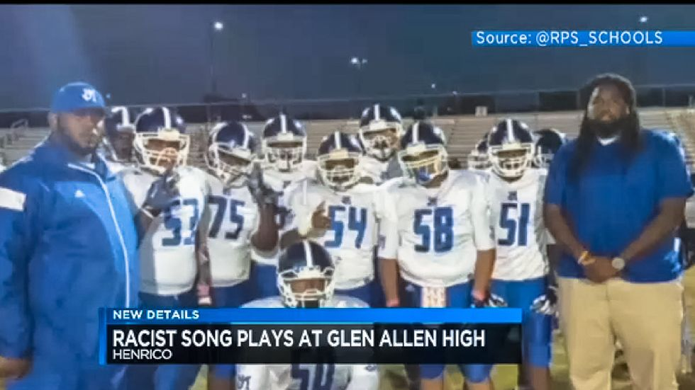 Virginia high school plays song with 13 N-words in one minute for game with predominately black school