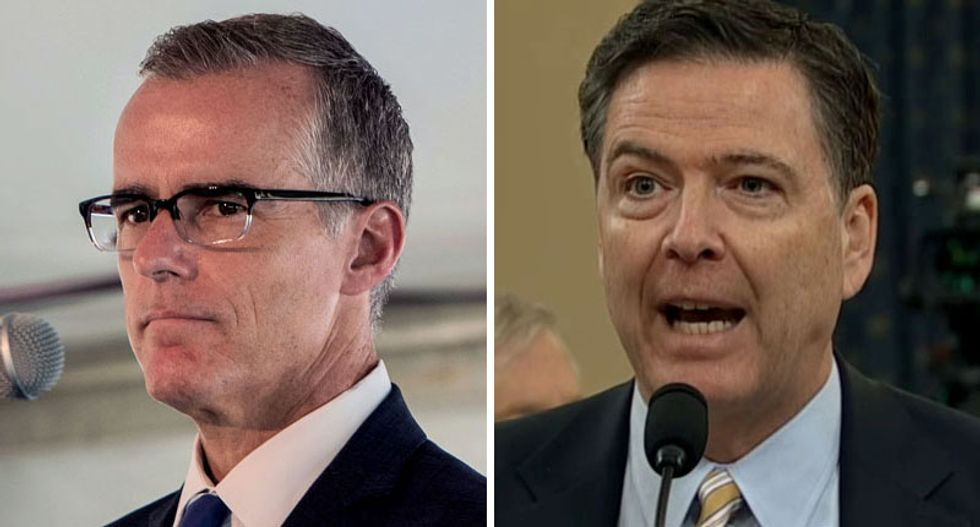 CNN legal analysts call McCabe and Comey 'patriotic' for questioning whether Trump is a 'Russian asset'