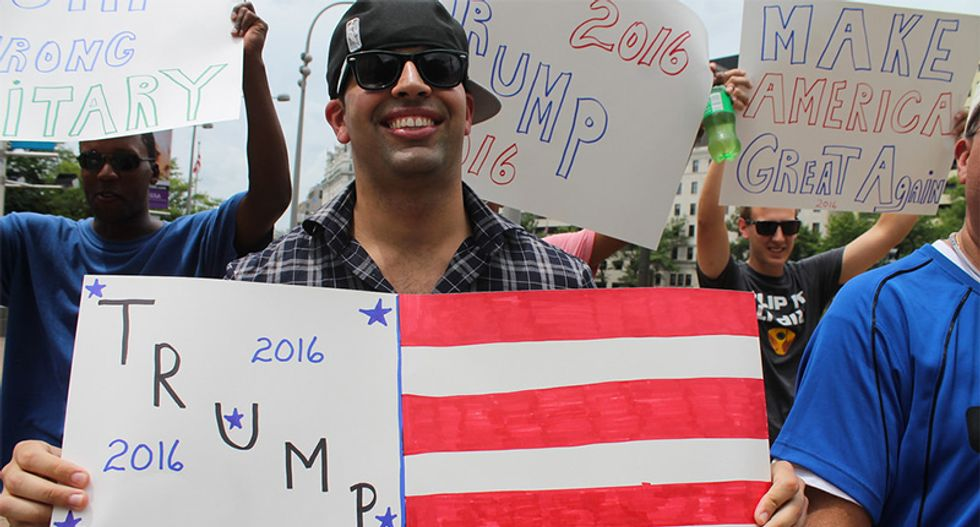 College Republicans are 'afraid of Trump' — so 'deplorable' student groups are taking their place