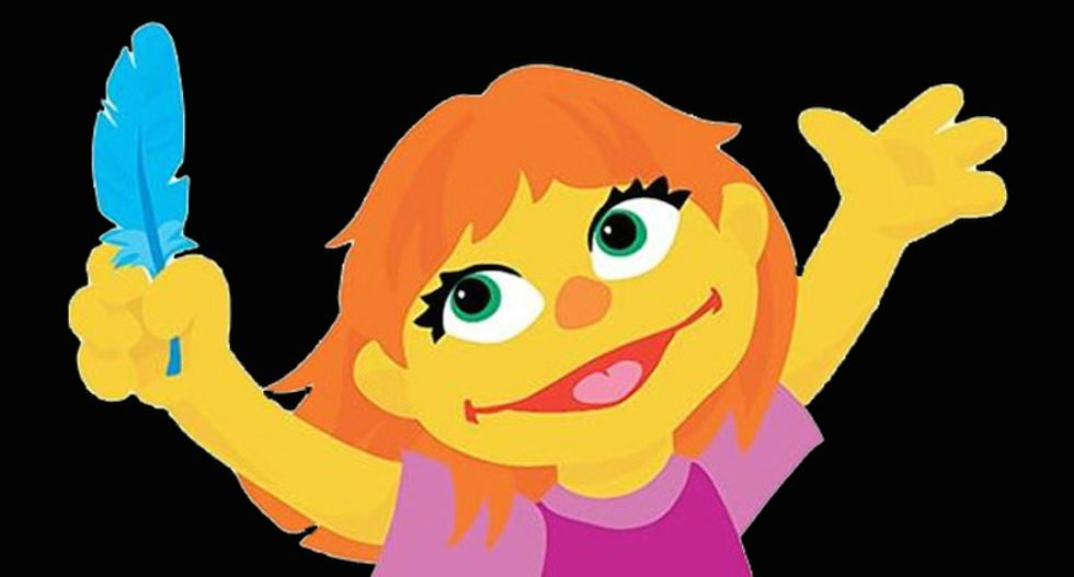 Anti-vaxxers convinced Sesame Street character Julia is a Big Pharma conspiracy to 'normalize' autism