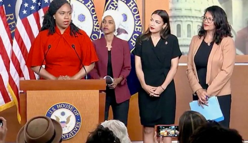 CNN slammed for labeling five centrist Democrats as 'leaders on impeachment' and erasing efforts of progressive women of color