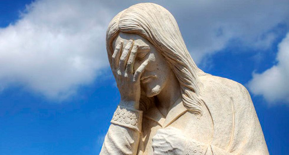 White evangelical Christians really only care about one thing -- and everything else is a sham
