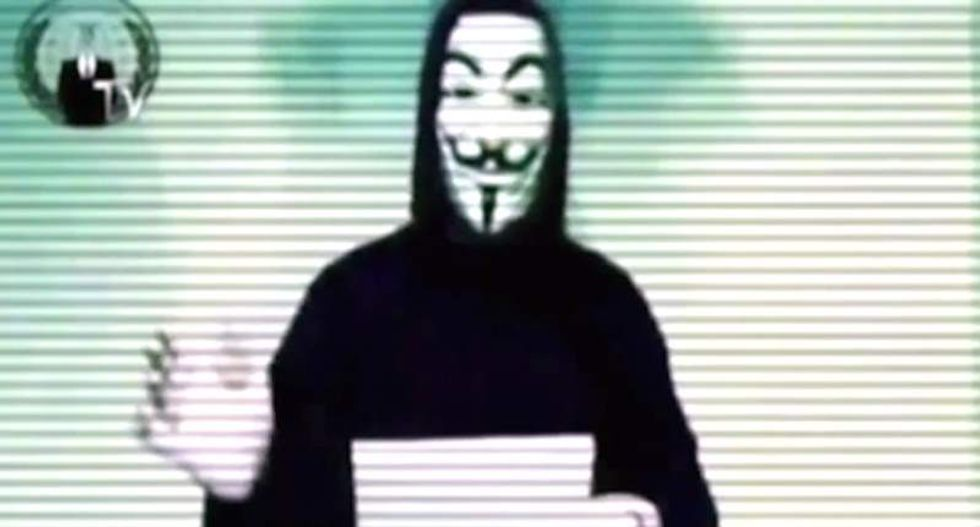 Anonymous carries out its threat, releases identities of alleged Ku Klux Klan members