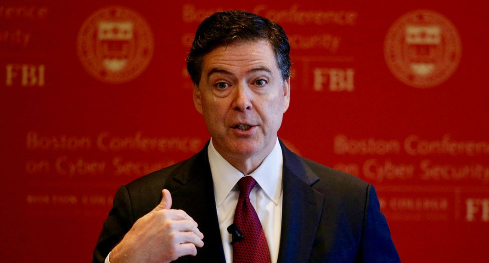 FBI's Comey meets with top US congressional leaders