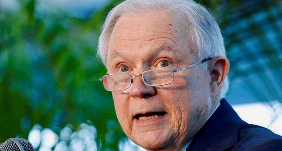 Jeff Sessions forms US cyber task force after election warnings