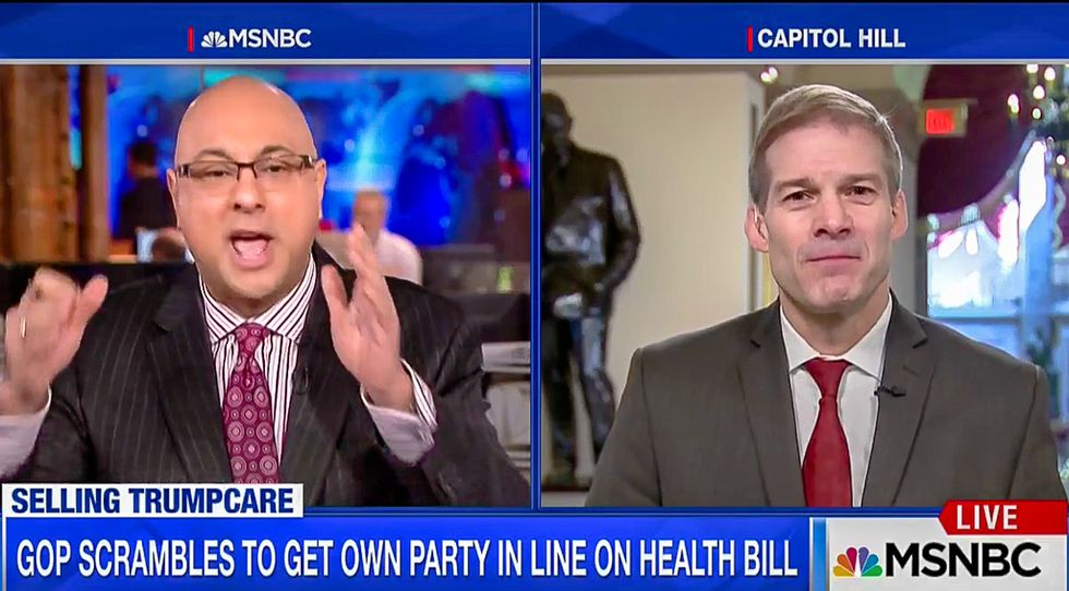 'I grew up in Canada': MSNBC host whoops GOPer for claiming people hate universal health care