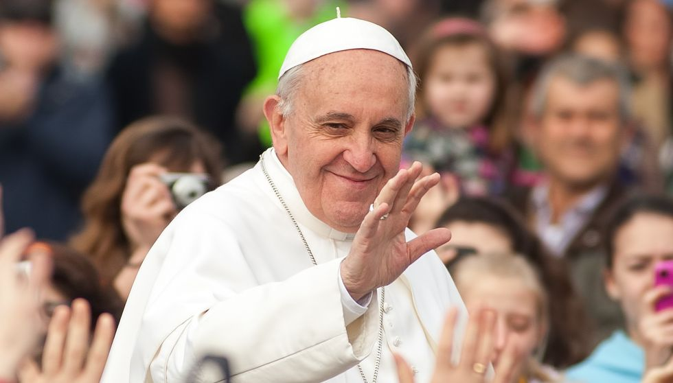 Pope Francis hints he may allow married Catholic men to become priests