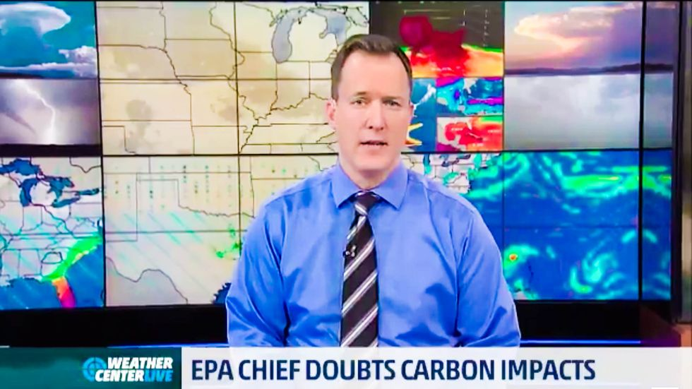 'Simply not true': The Weather Channel schools Trump EPA chief's bogus climate claims