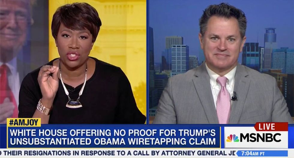 Joy Reid: Trump is surrounded by white nationalists like Bannon who keep him 'believing in conspiracy theories'