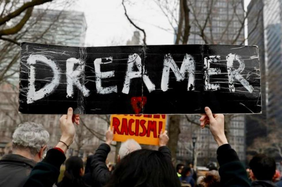 House Democrats pass 'historic' bill to shield Dreamers from Trump deportation force