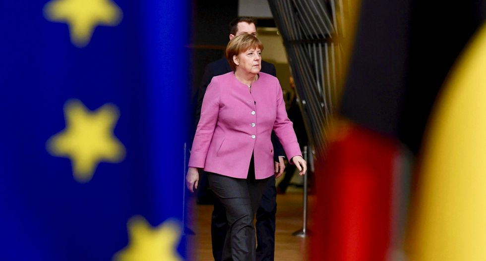 Merkel meets Trump in clash of style and substance