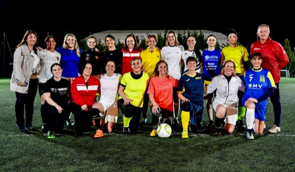 Vatican women strap on their boots for first time in World Cup year
