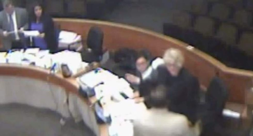 Cop attacks Calif. Deputy Attorney General for 'speaking loudly' in court -- and gets away with it