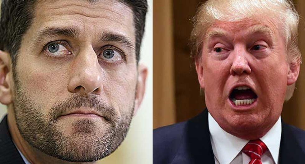 'I won't defend Trump — not now, not in the future': Paul Ryan caught on tape trashing Trump before election