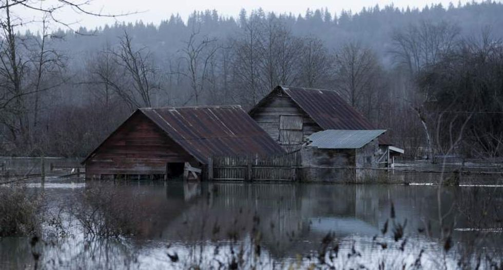 Pacific Northwest braces for mudslides as record-setting rainfall continues